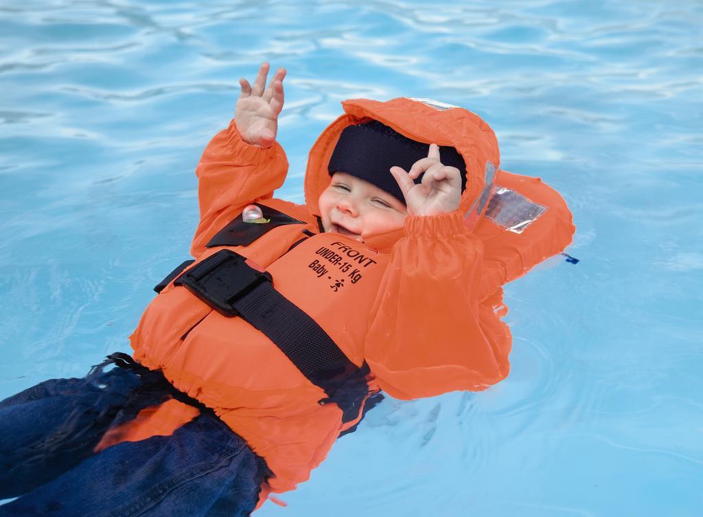 redningsvest baby